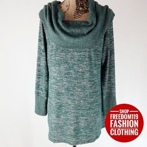 A.n.a | Oversized Cowl Knit Sweater or Dress (XL)